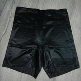 14/m-l/46-48 m&s,англия черные корректирующие шорты, шорты утяжка новые