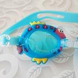 Детские очки для плавания Рыбка , много вариантов