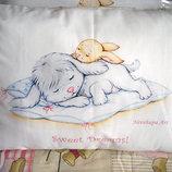 Подушки дизайнерские с авторским рисунком