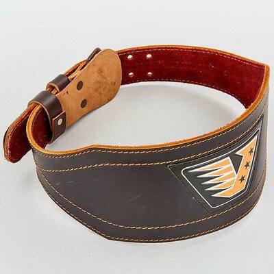 Пояс для пауэрлифтинга кожаный Velo 8178 размер M-XXL