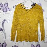 яркая блуза zara