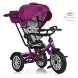 Детский трехколесный велосипед M 4057-8 Фиолетовый