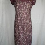 Кружевное красивое платье next 12p