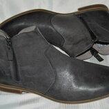 Ботинки кожа pier one размер 42 43, ботінки шкіра
