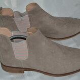 Ботинки Anna Field размер 42 43, ботінки шкіра