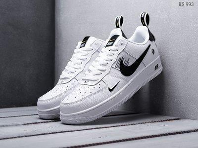 Цена снижена. Как оригинал. Бесплатная доставка. Кроссовки Nike Air Force 1 LV8 черно/белые KS 993