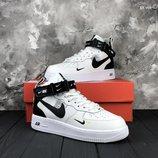 Как оригинал. Бесплатная доставка. Кроссовки Nike React Element 87 Undercover черно/белые KS 991