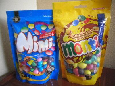Шоколадное драже Mimi 230 грамм.Польша