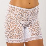 Трусики панталоны кружевные M-5XL