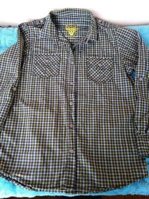 Продам нашу рубашку очень хорошего качества х.б. 158-164 р