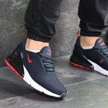 Кроссовки мужские Nike Air Max 270 dark blue/red