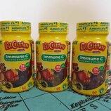 L'il Critters, Жевательные витамины Immune C с цинком и витамином D 200 ME,60 штук.