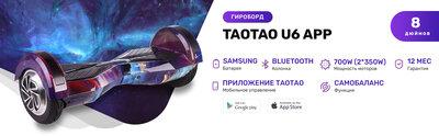 TaoTao U6 APP - 8 дюймов с приложением и самобалансом YP Млечный путь