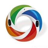 Круг надувной Цветная капля 58202 Intex