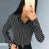 Женская блузка в полоску Felicity 42-44, 46-48,50-52р 2цв