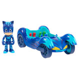 PJ Masks Герои в масках Кетбой с кэт-машиной Vehicle Cat-Car Catboy Figure