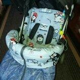 Летний конверт в прогулочную коляску, чехол на ножки на лето, хлопковый футмуф, летний текстиль