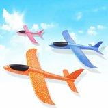 Пенолет метательный планер самолёт большой 49 48см для детей и взрослых