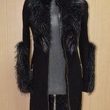 Кашемірове жіноче пальто фірми samang