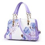 Каркасная женская сумка с милыми цветочными рисунками В наличии