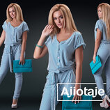 Красивый модный женский комбинезон 25512 цвета