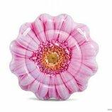 Детский матрас Intex 58787 EU Розовый цветок , 142см, от 6-ти лет