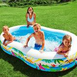 Детский надувной бассейн Тропики Intex