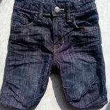 Джинсовые шорты H&M 3-6 лет.