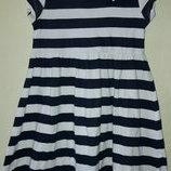 Платье в морском стиле 4-5 лет