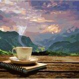 Картина по номерам. Brashme Утро с видом на горы GX24686