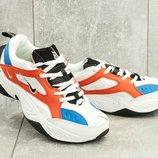 Кроссовки женские Nike M2K Tekno white/blue