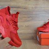 Кроссовки женские сетка Nike Huarache red