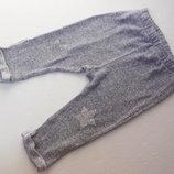 Zara. Мягусенькие штанишки деми. 12-18 месяцев.