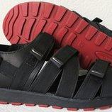 Nike жесть Мужские кожаные сандали на липучках в стиле Найк