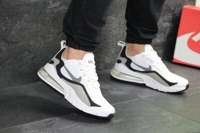 Кроссовки мужские Nike Air Max 270 React white/black