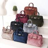 Шикарная бархатная стеганая сумка для стильных девушек В Наличии