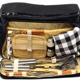 сумка холодильник-барбекю 11 предметов