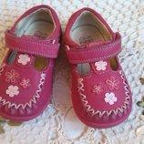 Туфли, мокасины для девочки, кожа 20р