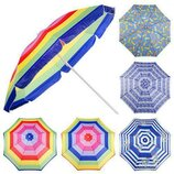 Зонт пляжный d2.4 м 0042