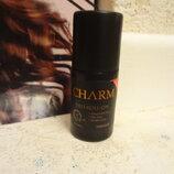 Шариковый дезодорант парфюмированный без парабенов мужской charm farmasi фармаси
