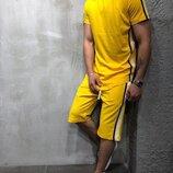 Летний мужской костюм футболка и шорты