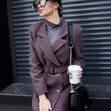Укороченный пиджак - пальто, расцветки разные