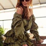 Воздушное летнее платье 42 - 46 расцветки разные