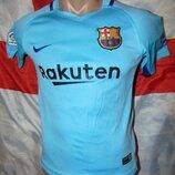 Детская фирменная футбольная футболка Nke ф.к Барселона .5-7 лет