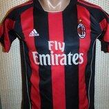Спортивная фирменная футбольная футболка Adidas ф.к Милан .Seedorf.7-10 лет