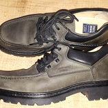 48р-31.5 нубуковачя кожа туфли класса люкс Fretz men Swiss made