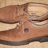 47р-31.5 нубуковая кожа туфли класса люкс Marc walker Made in Italy идеальное состояние ширина стел