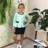 Блуза на девочку школьная