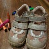 Ботинки кожаные Ecco размер 25.