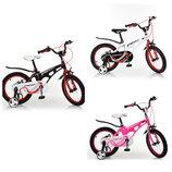 Детский двухколесный велосипед Профи Инфинити Profi Infinity на 14,16,18 дюймов